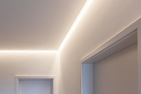 LED Beleuchtung im Flur